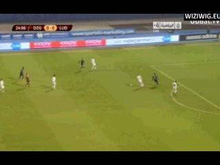 Dinamo Zagreb - Ludogorets 27' Dani Abalo