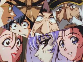 Mobile Battleship Nadesico / Kidou Senkan Nadesico / Крейсер Надэсико 1 серия