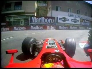 Michael Schumacher aparcando en La Rascasse - GP Monaco 2006