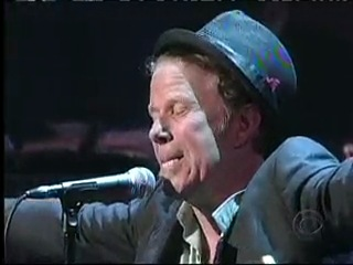 Tom Waits - Lie To Me on Late Show with David Letterman 27.11.2006