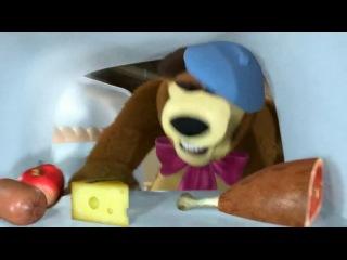 Маша и медведь Картина маслом 1 фрагмент для киновариаций
