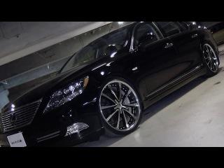 SKIPPER Lexus LS600hL Body kit Lowenhart wheels Nitto tires etc
