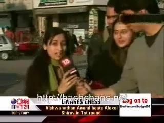 Aishwarya,Hrithik and Ashustosh on CNN-IBN Part3