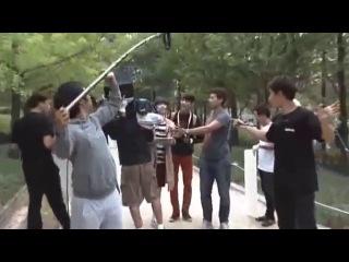 Minho Sulli / Park scene - TTBY Making of DVD