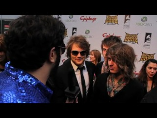 ASKING ALEXANDRIA Interview to Metal Injection at Revolver Golden Gods 2012
