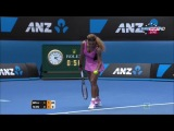 Australian Open 2014. 4 круг. Ана Иванович (Сербия) - Серена Уильямс (США)