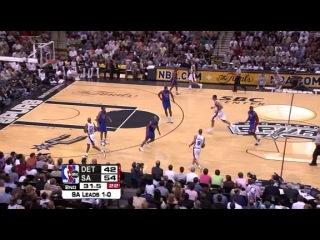 Финал | Сезон 2004-2005| СА Спёрс-Детройт Пистонс | 2 игра