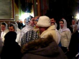 Храм св Петра и Павла, Бельцы. Рождественская колядка 2013