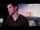 IAR VIDEO- Taylor Lautner Talks The Twilight Saga- Breaking Dawn - Part 2