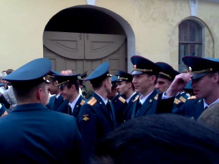 Выпуск тольяттинских курсантов 2011 год