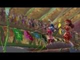 Феи: Турнир Долины Фей  Pixie Hollow Games (2011,мультфильм,США) Лицензия  HD720