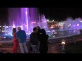 Нереально красивые цветные поющие фонтаны Шарм-эль-Шейх