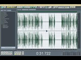 ADOBE AUDITION---Запись вокала Нормализация и удаление шума.