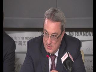 Пресс-конференция Вячеслава Гайзера по итогам Презентации Республики Коми в Китае