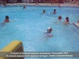 Турция.Отель.Наш бассейн.Горки..
