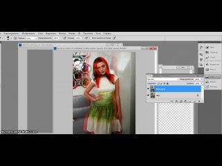 Урок фотошопа #2/Красная тень