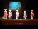 Выступление дочурки на концерте ко Дню Учителя в ДК.