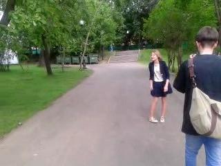 Вика Славина и 100 дней лета (backstage)