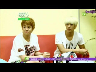25.08.2012 B2ST on QTV EP 01 (рус. саб.)