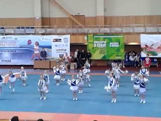 выступления в Челябинске черлидинг команда винкс город МАГНИТОГОРСК