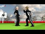 Chelsea's Eden Hazard kicks ball boy (Мультик о том, как Эден Азар