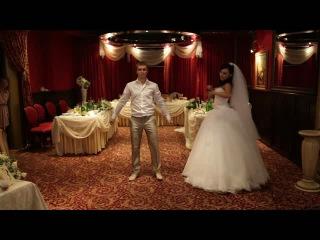 Пример свадебного танца жениха и невесты