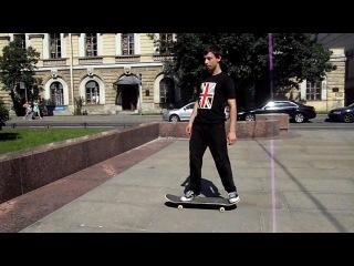 Серега-мастер скейтборда
