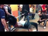 Русский жим в Тушино 2013 | Штанга 150 кг