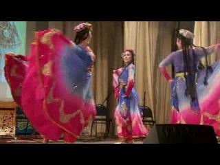Красивый уйгурский танец ансамбль арзу