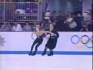 ОИ 1992: Марина Климова-Сергей Пономаренко