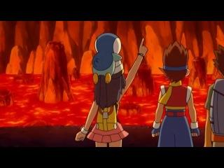 Покемоны: Алмаз и жемчуг: Победители Лиги Синно - 13 сезон 12 серия