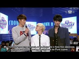 131017 SHINee - Opening, Re-Chart, MC @ M! Countdown (русс.саб)
