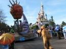 Париж Дисней Лэнд парад