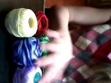 Мой 1 видео обзор ниток и фенечек.Кратко :3