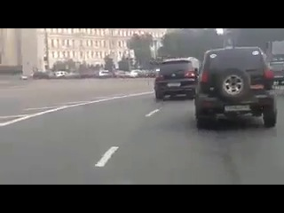Девушка в стрингах на мотоцикле