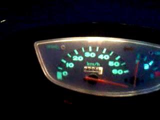 Honda Dio 35 SR top speed