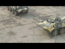 Обкатка танком ОБОР ПДБ Осень12 Тейково