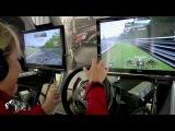 GT Academy 2012 - Sabine Schmitz - Silverstone