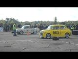 ZAZ 965 vs ZAZ 968 Зяброука! 29.09.12