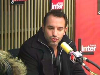 Жан Дюжарден на радио France Inter перед премьерой