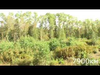 Ерофей павлович - Хабаровск 7874 - 7924 км 4d16h31m01s-4d17h26m52s