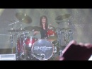 Skillet Live in Kiev 10.12.13 - Jen Ledger solo drum