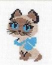 Узор для вязания (вышивания) котенок Гав.