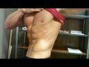 ABS ABS ABS Ian Lauer CSCS shows his abdominal developme