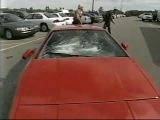 WCW Nitro: Scott Steiner smashes Stevie Ray's car