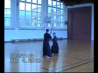 Shinto Muso ryu - ran-ai odachi with Fred
