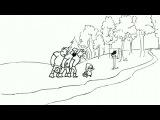 Три русских богатыря (1-6 серии из 6) [2012, Мультфильм, прикол