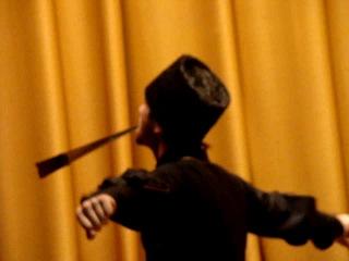 Ансамбль Кабардинка Танец с кинжалами г Нальчик 10.2012
