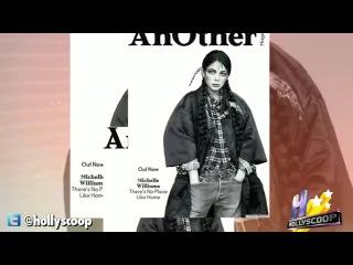 Мишель на скандальной обложке журнала