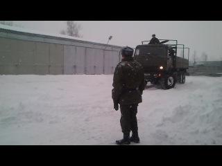 Камаз 53501,армия) февраль)
